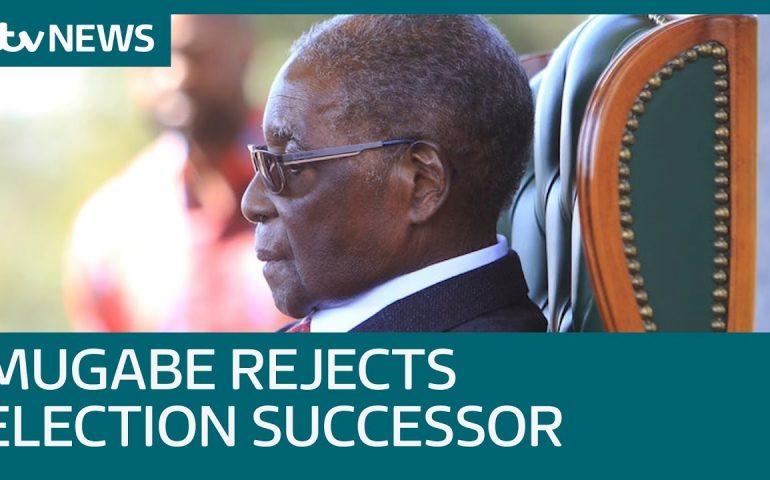 Robert Mugabe rejects Zanu-PF successor in Zimbabwe election | ITV News