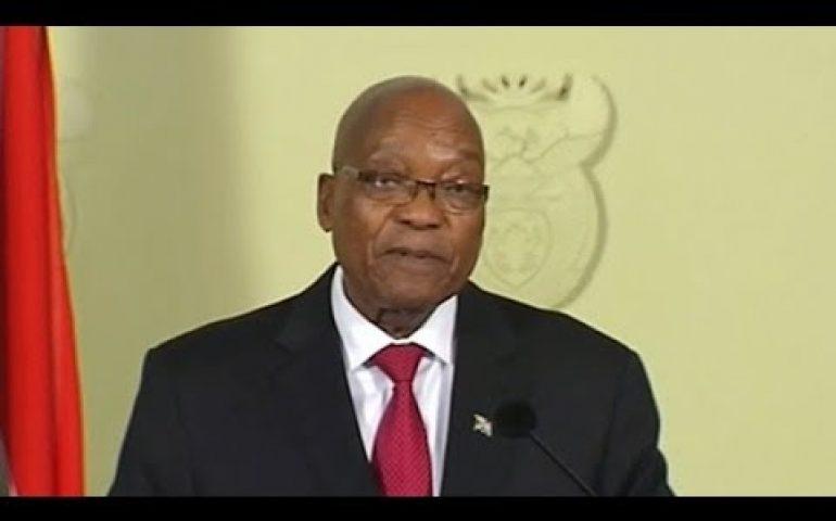 Jacob Zuma resigns as president of South Africa | ITV News