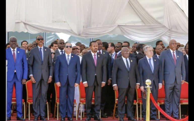 African Union faulted for failing to enforce security and democracy on the continent