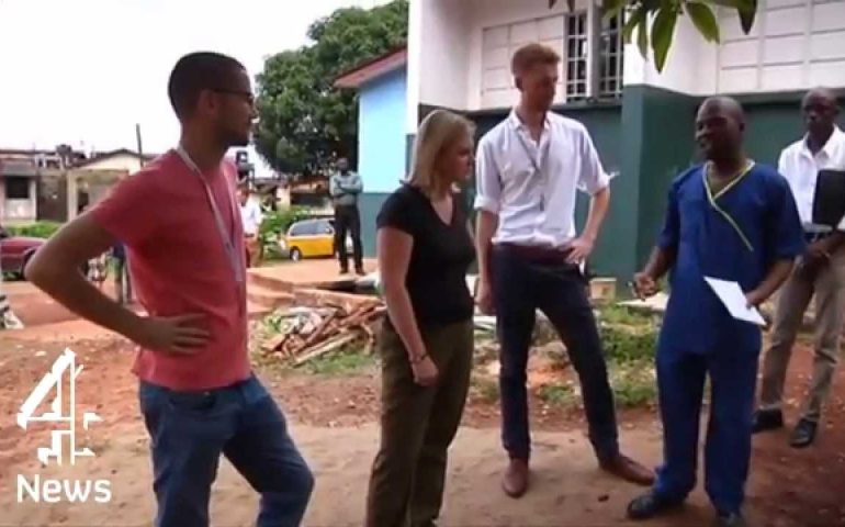 Ebola tearing families apart in Sierra Leone | Channel 4 News