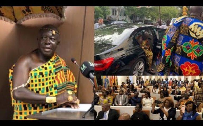 OTUMFUO OSEI TUTU II SPEAKS AT AFRICAN UNION, African Diaspora to Assist in the Dev. of Africa/Ghana