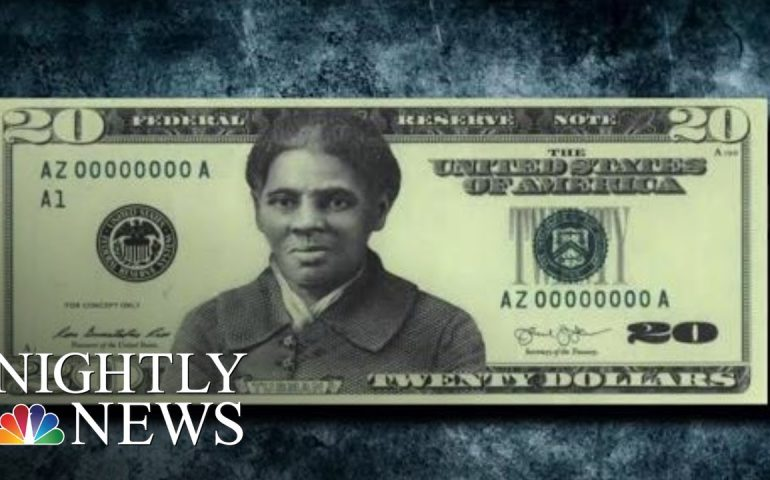 Controversy Over Delayed $20 Bill Featuring Harriet Tubman | NBC Nightly News