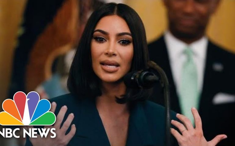 Watch Kim Kardashian West's Full White House Speech On Prison Reform | NBC News