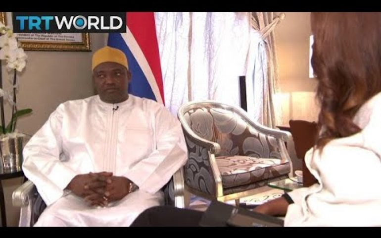 One on One: Interview with Adama Barrow, The Gambia's President