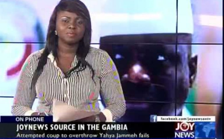 Gambia in Turmoil – Today's Big Story on Joy News (30-12-14)