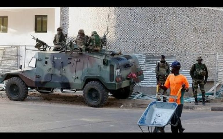 ECOWAS troops secure presidential palace in Gambia
