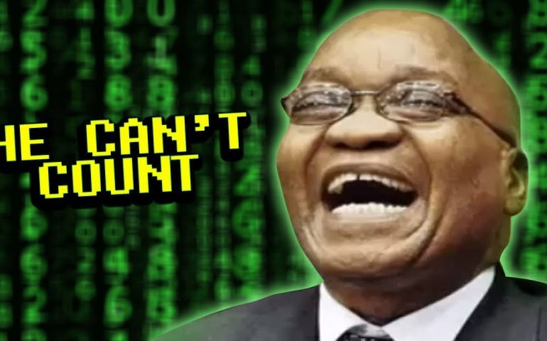 The president of South Africa's Numbers – Cringe Tuesdays #7