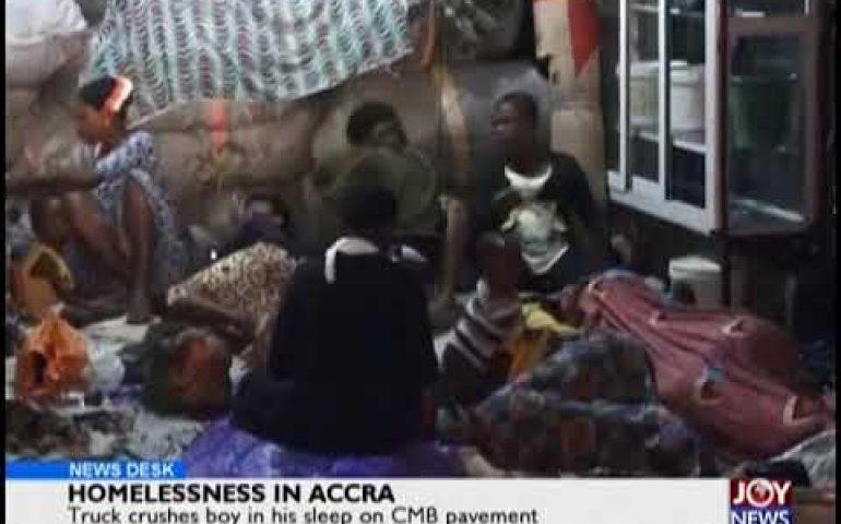 Homelessness In Ghana – News Desk on JoyNews (2-10-18)