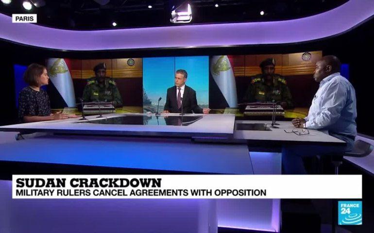 Sudan crackdown: