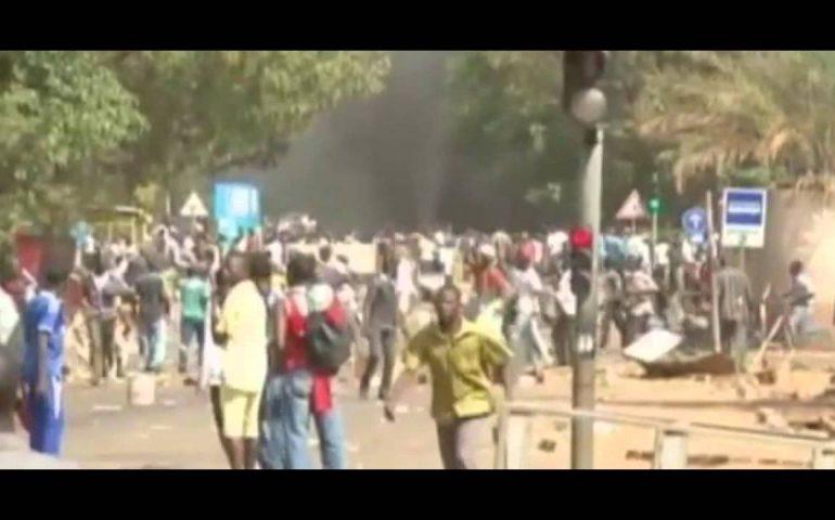 President of Burkina Faso resigns