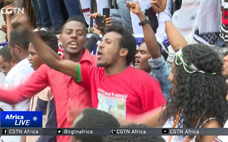 Ethiopia's new PM calls for unity