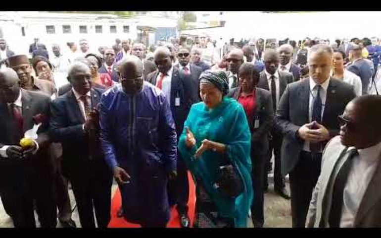 handover UNMIL Radio to ECOWAS regional broadcasting in Liberia
