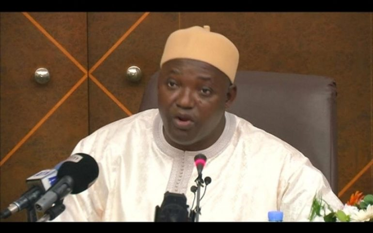 Gambia: New president says Jammeh has agreed to cede power