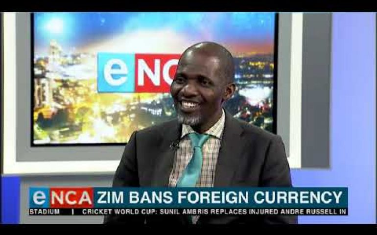 Zimbabwe bans foreign currency