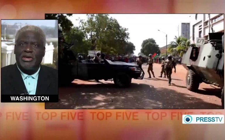 Burkina Faso military chief takes power following ouster of president