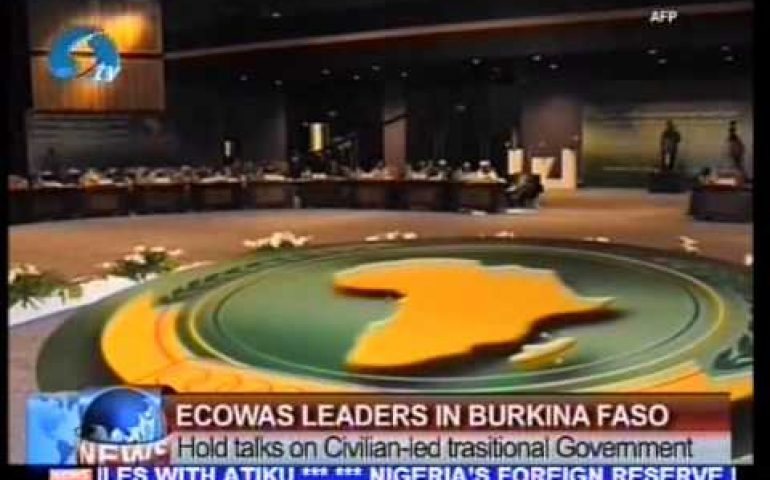 ECOWAS Leaders in Burkina Faso: Hold talks on Civilian led trasitional Government