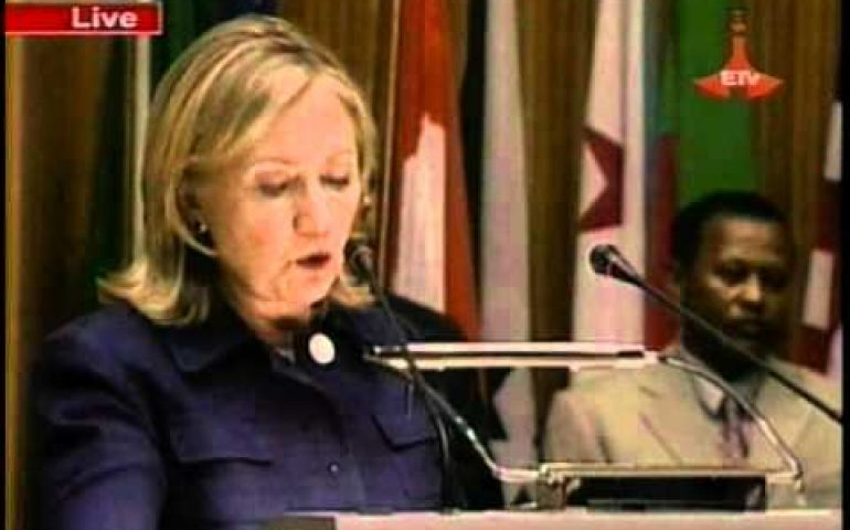 Secretary Clinton Delivers Remarks at African Union