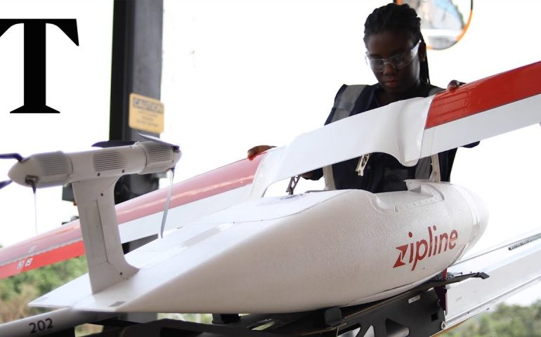Drones carrying medicines and blood to Ghana's rural millions | Times News