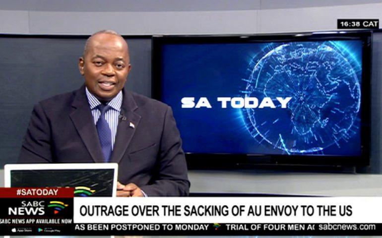 AU under fire for sacking its envoy to the United States