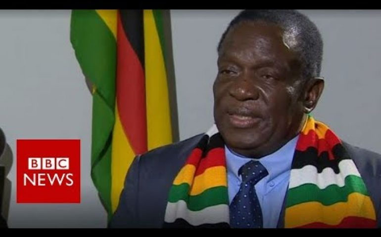 Zimbabwe President Mnangagwa says country is 'safe' – BBC News