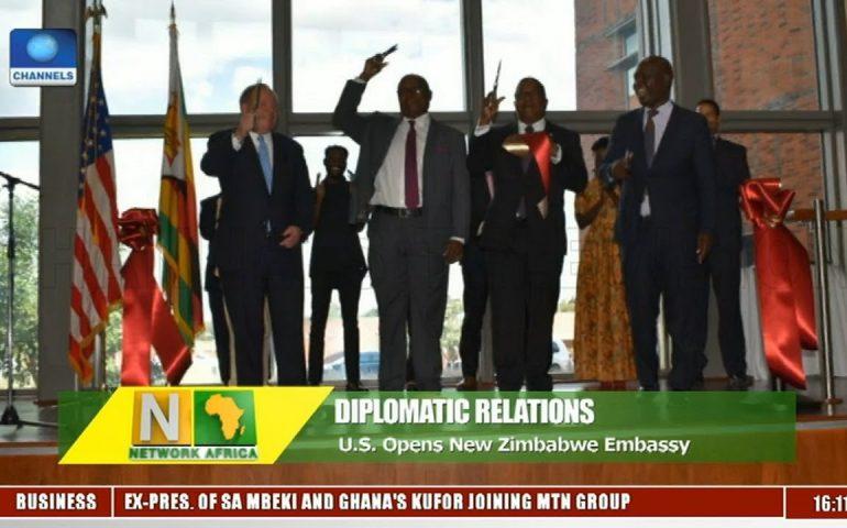 U.S. Opens New Zimbabwe Embassy |Network Africa|