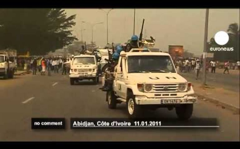 Violent Clashes in Ivory Coast – no comment
